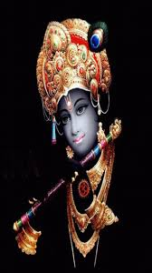 Lord Krishna 3D Images In Black ...
