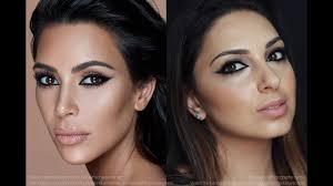 kim kardashian eye makeup tutorial arabic eyeliner nadia zayat
