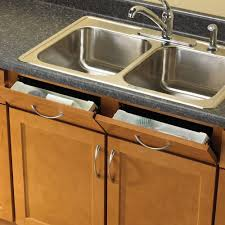 w sink front tray with hinges