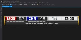 Scoreboard Template Basketball Title XAML Template 24rd Party Software And Development 22