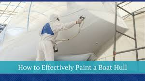 view larger image painting boat hull
