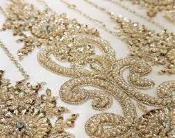 <b>Beaded lace</b> fabric | Etsy