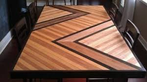 Clean up excess glue immediately with a. Chevron Patterned Dining Table Top Ana White