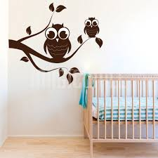 wall decals owl branch nursery