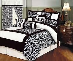 queen comforter set erfly flourish bed bag in zebra stripe decor 7