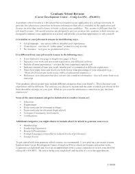 Graduate School Resume Example Resume Format For Application Luxury