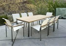 modern outdoor dining furniture. Beautiful Furniture Modern Outdoor Dining Table Room Ideas Regarding  Set  Patio  To Modern Outdoor Dining Furniture