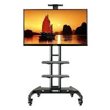 Flat Screen Display Stand Mobile Flat Panel Tv Stand Flat Screen Cart North Bayou Universal 95