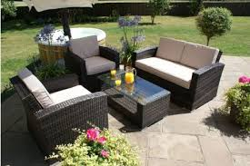 maze rattan kingston 2 seat garden sofa