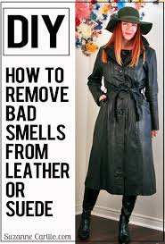 i now have a guaranteed method to remove bad smells from leather or suede and it doesn t cost and arm and a leg