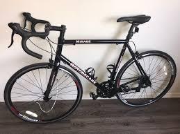 brand new motobecane mirage s road bike 58cm black carbon fork aluminum frame roadbike