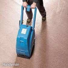 how to dry out basement carpeting diy
