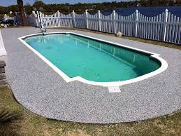 concrete pool decks. Fine Pool Waterproof Floor Skinz ElastiDeck System To Concrete Pool Decks O
