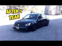 nissan altima 2005 with rims. modified 3rd gen altima walk around greddy exhaust ku0026n intake 350z rims coilovers plasti dip youtube nissan 2005 with