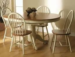 painted round dining table and chairs image result for paint country pine round dining table spindle