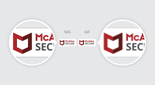 A beautiful panel rendered in color gradients appears. Why You Should Love The New Mcafee Secure Trustmark