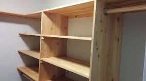 diy cedar closet shelving system part 1 shelves