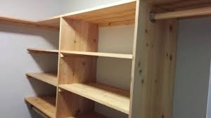 diy cedar closet shelving system part 1 shelves