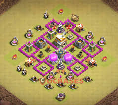 Clash Of Clans Th6 Base Design 13 Best Th6 War Base Links 2020 War Clash Of Clans Base
