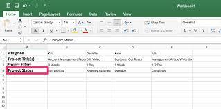 Workload Management Template In Excel Priority Matrix