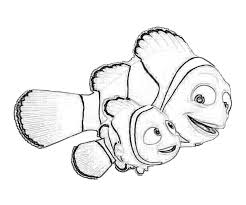 Finding Nemo Coloring Pages Getcoloringpagescom