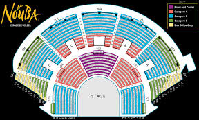 Cibc Seating Chart With Seat Numbers Cirque Du Soleil Theatre Seating Chart Cirque Du Soleil
