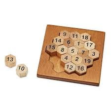 Wooden Math Games Aristotle's Number Puzzle math game wood block tile UncommonGoods 24