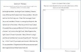 Kids. kindergarten language arts worksheets: And Color The Simple ...