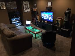 ... Interior Best Gaming Room Ultimate PS4 Setup Cool ...