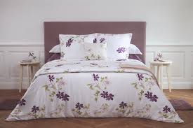 home bed duvet covers yves delorme clematis printed bed linens new