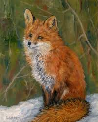 Fox Oil Chart This Painting Resulted After A Color Chart Of Three