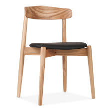 wooden chair. concept dining chair, solid ash wood, natural finish wooden chair