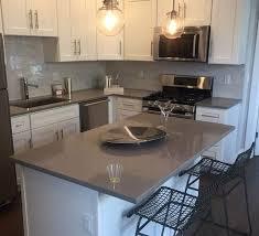 qz301 classic grey high polish artificial quartz stone kitchen countertops