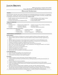 Beautiful Food Industry Management Resume Pictures Best Resume