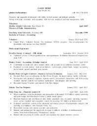 Sample Budget Analyst Resume Sample Resume For College Graduate With