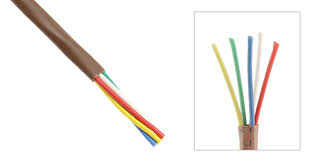 18 gauge 5 conductor thermostat cable 250ft brown 18 gauge 5 conductor thermostat cable 250ft brown view 1