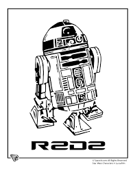 Small Picture Free Printable R2d2 Coloring Pages Coloring Pages Ideas