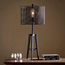 edison table lamp vintage home lighting. Edison Bulb Clock Table Lamp Pertaining To Stunning Decorations Alarm Light Vintage Home Lighting