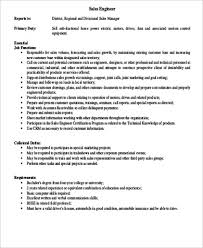 9+ Sample Engineer Job Descriptions | Sample Templates