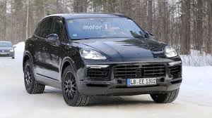 2018 porsche suv. fine suv 2018 porsche cayenne spy photo throughout porsche suv