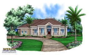 Beach House Plan Olde Florida West Indies Beach Home Floor Plan