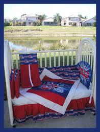 new 7 piece baby crib bedding set m w nfl buffalo bills team fabric