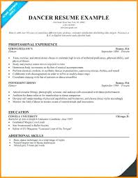 Modern Dance Resume Dance Teacher Resume Format Pdf Templates Dancer Template Download