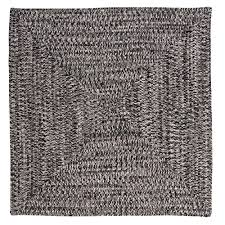 home decorators collection marilyn tweed zebra 8 ft x 8 ft square braided rug