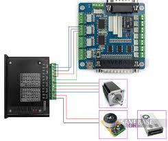 4 axis cnc kit for nema17 nema23 nema34 motor 4 tb6600hg stepper breakout board wiring