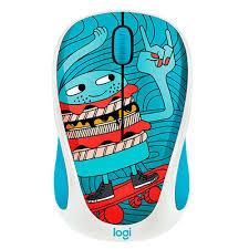 Купить <b>мышь Logitech M238 Doodle</b> Collection SKATEBURGER ...