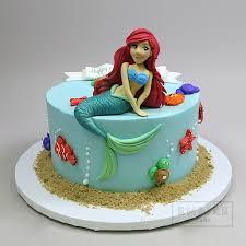 Little Mermaid Ariel 3d Figure Empire Cake