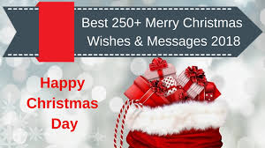 Best 250 Merry Christmas Wishes Messages 2018 Wishesfeast