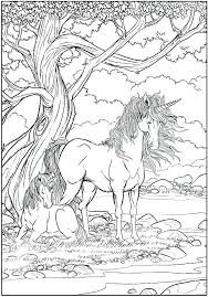 Unicorn Coloring Pages For Free Coloring Source Kids