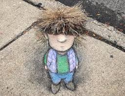 Adorable 3d Sidewalk Chalk Characters That Cleverly
